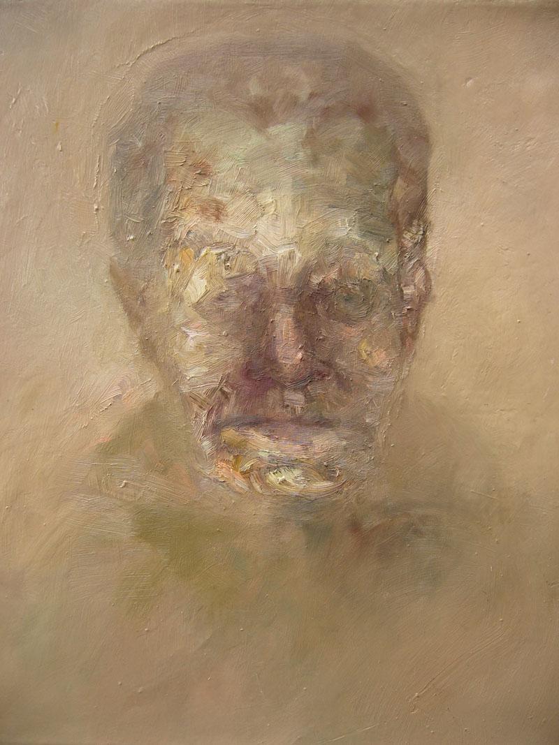 XI, maggio 2006; olio su tela, 39x31 cm.