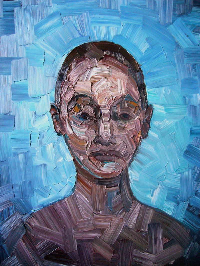 LVI, settembre 2007; olio su tela, 39x31 cm.