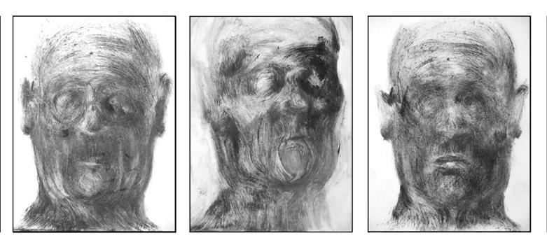 Lezioni di filosofia della storia, Rizzacasa, 2004; stampa monotipo, ciascuno 22x18 cm.